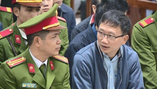 Bị cáo Trịnh Xuân Thanh - Sputnik Việt Nam
