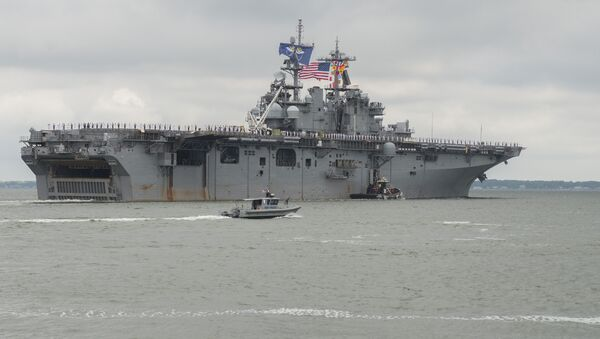 USS Wasp departs Naval Station Norfolk - Sputnik Việt Nam