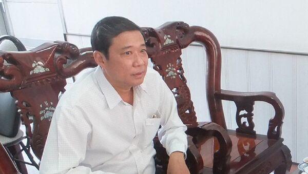 Ông Võ Tấn Hiền - Giám đốc Sở Nội vụ tỉnh Tiền Giang - Sputnik Việt Nam
