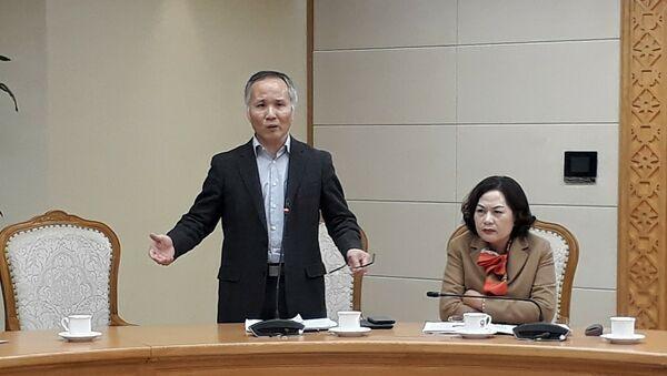 Thứ trưởng Bộ Công thương Trần Quốc Khánh - Sputnik Việt Nam