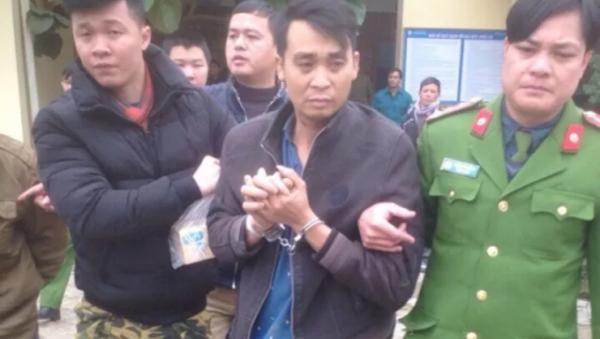Đối tượng Nguyễn Văn Cường bị bắt giữ sau ba ngày lẩn trốn - Sputnik Việt Nam