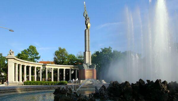 Đài tưởng niệm những người lính Liên Xô ở Vienna - Sputnik Việt Nam