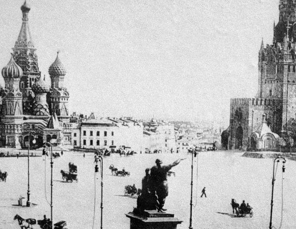 Quảng trường Đỏ ở Moskva. Năm 1896 - Sputnik Việt Nam