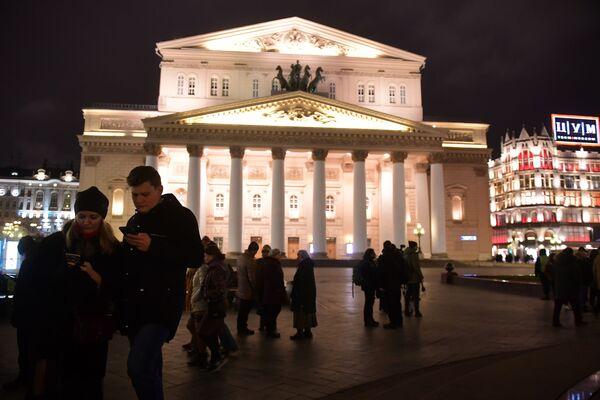 Nhà hát Bolshoi ở Moskva. Năm 2017 - Sputnik Việt Nam