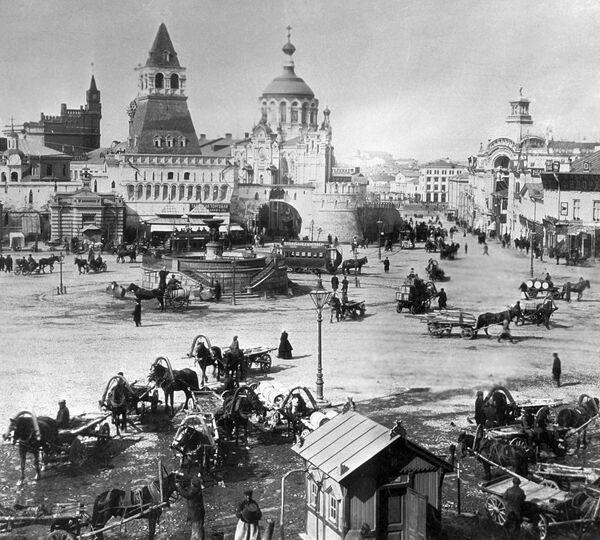 Quảng trường Lubyanka ở Moskva. Năm 1899 - Sputnik Việt Nam