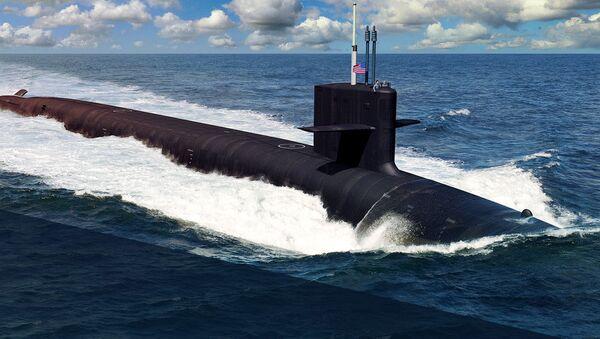 tàu ngầm lớp Columbia - Sputnik Việt Nam