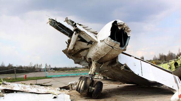 vụ tai nạn máy bay Tu-154 Ba Lan gần Smolensk năm 2010 - Sputnik Việt Nam
