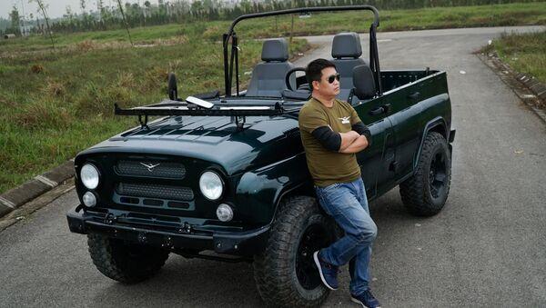 UAZ Hunter mui trần trang bị động cơ diesel và option lốp địa hình - Sputnik Việt Nam
