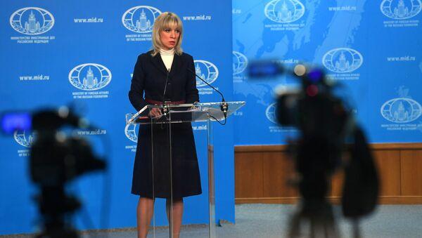Phát ngôn viên Bộ Ngoại giao Nga Maria Zakharova - Sputnik Việt Nam