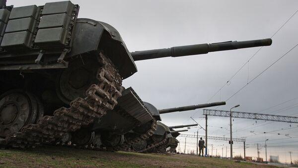 thiết bị quân sự Ukraina tại Crưm - Sputnik Việt Nam