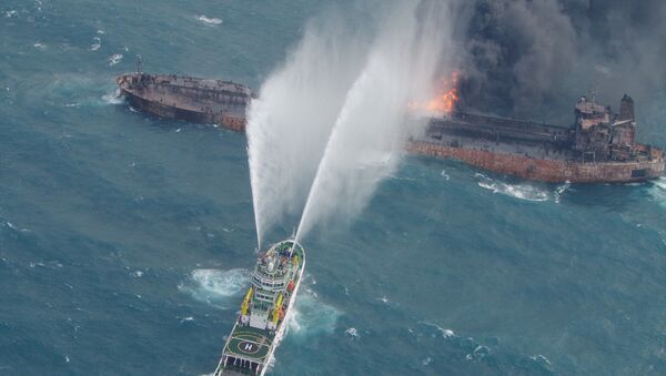 Tàu chở dầu Iran SANCHI - Sputnik Việt Nam