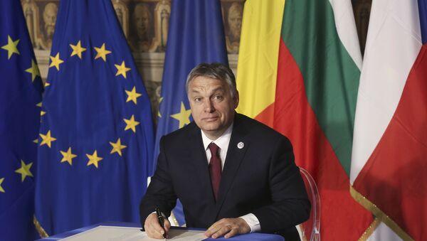 Thủ tướng Hungary Viktor Orban - Sputnik Việt Nam