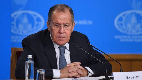 Bộ trưởng Ngoại giao Nga Sergei Lavrov tổ chức họp báo tổng kết năm - Sputnik Việt Nam