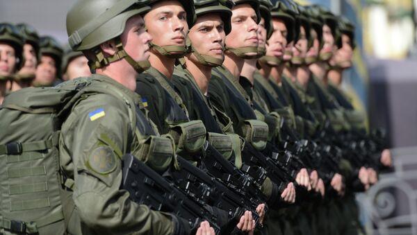 những quân nhân Ukraina - Sputnik Việt Nam