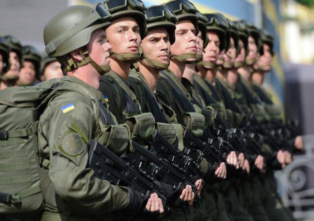 những quân nhân Ukraina