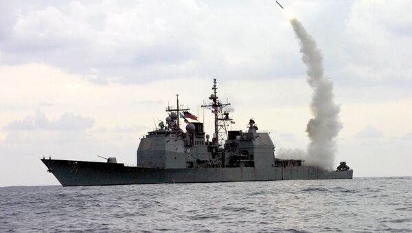 Phóng tên lửa Tomahawk - Sputnik Việt Nam