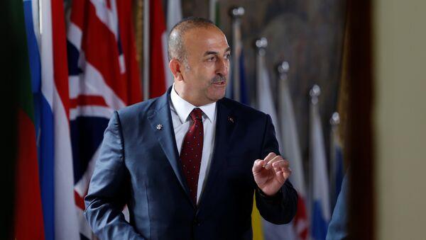 Bộ trưởng Ngoại giao Thổ Nhĩ Kỳ Mevlut Cavusoglu - Sputnik Việt Nam