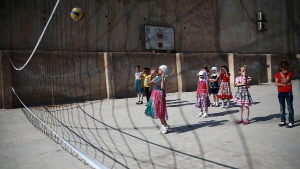 Trẻ em Syria đi học - Sputnik Việt Nam