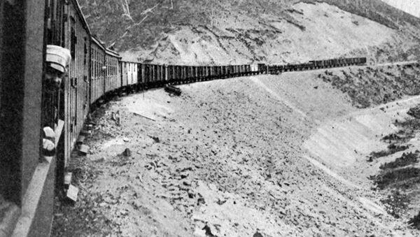 Đường sắt Nga, năm 1905 - Sputnik Việt Nam