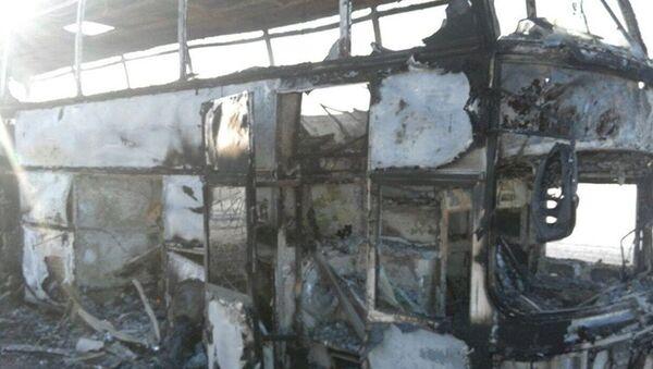 Kazakhstan: Hơn 50 người thiệt mạng trong xe buýt bùng cháy - Sputnik Việt Nam
