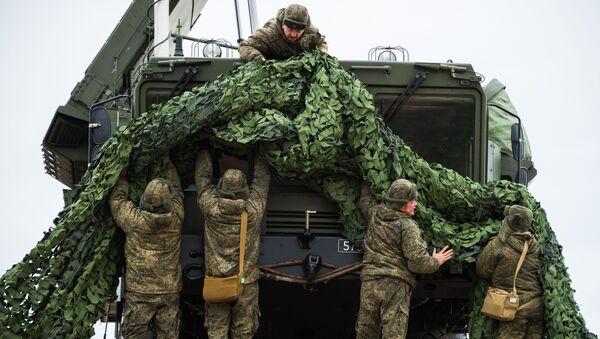Tổ hợp phòng không S-400 Triumph triển khai nhiệm vụ bảo vệ không phận của Nga tại Sevastopol - Sputnik Việt Nam
