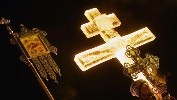 Ở Nga đang kỷ niệm một lễ hội quan trọng của Cơ đốc giáo - Lễ Rửa tội Thiên Chúa - Sputnik Việt Nam