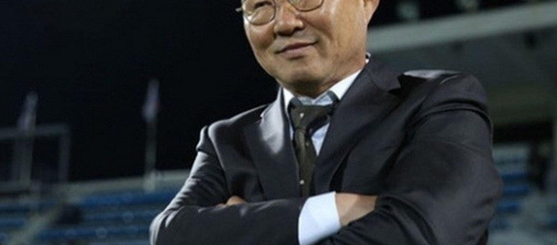 Huấn luyện viên U23 Việt Nam Park Hang Seo. - Sputnik Việt Nam, 1920, 24.01.2018