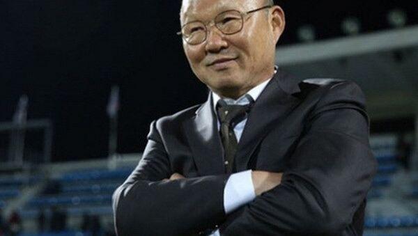 Huấn luyện viên U23 Việt Nam Park Hang Seo. - Sputnik Việt Nam