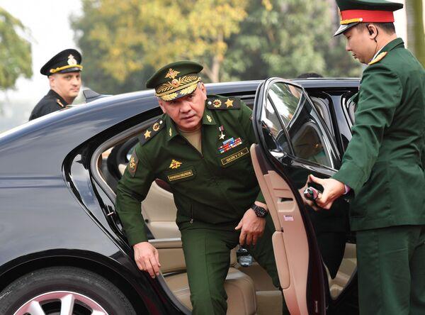 Bộ trưởng Quốc phòng Nga Sergei Shoigu tại Hà Nội - Sputnik Việt Nam
