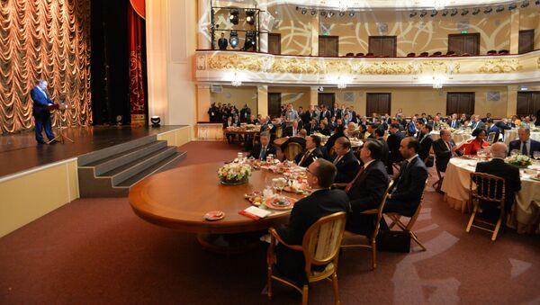 Tổng thống Liên bang Nga tổ chức tiệc chiêu đãi những người đứng đầu phái đoàn tham dự hai hội nghị thượng đỉnh BRICS và SCO ngày 9 tháng 7 - Sputnik Việt Nam