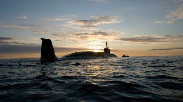 """Tàu ngầm hạt nhân của đề án 955 lớp """"Borey"""" """"Yury Dolgoruky"""" - Sputnik Việt Nam"""