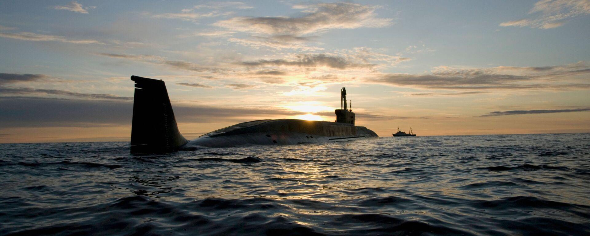"""Tàu ngầm hạt nhân của đề án 955 lớp """"Borey"""" """"Yury Dolgoruky"""" - Sputnik Việt Nam, 1920, 27.10.2020"""