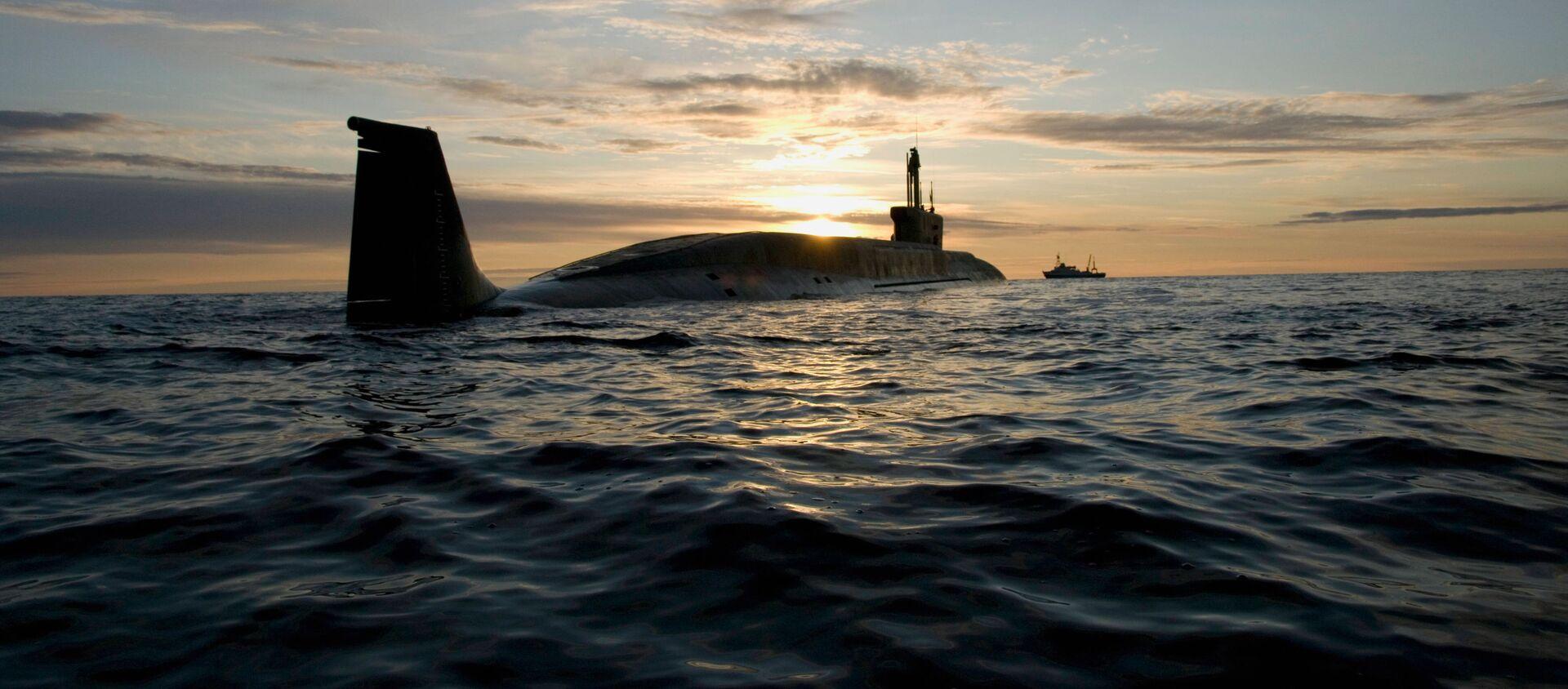 """Tàu ngầm hạt nhân của đề án 955 lớp """"Borey"""" """"Yury Dolgoruky"""" - Sputnik Việt Nam, 1920, 02.08.2021"""