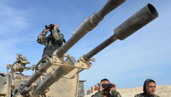 Quân đội Syria - Sputnik Việt Nam
