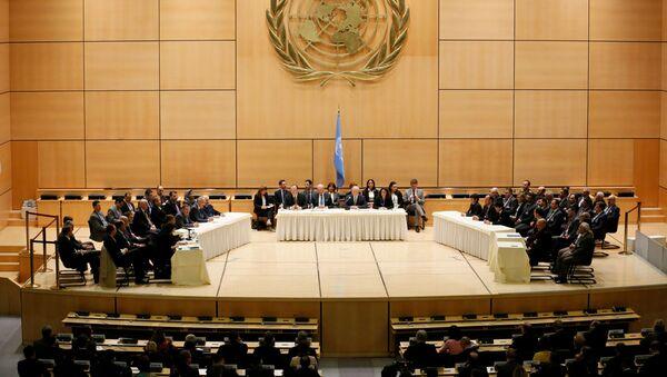 Cuộc đàm phán về giải pháp Syria ở Geneva - Sputnik Việt Nam