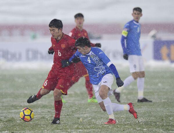 Trận chung kết Asian Cup U-23 giữa các đội tuyển quốc gia Việt Nam và Uzbekistan tại Thường Châu - Sputnik Việt Nam