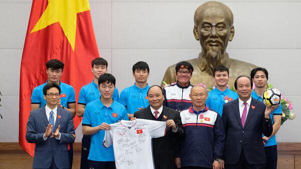 Thủ tướng gặp mặt Đội tuyển U23 Việt Nam - Sputnik Việt Nam