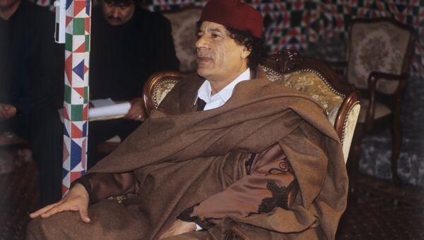 Cựu Tổng thống Libya Muammar Gaddafi - Sputnik Việt Nam