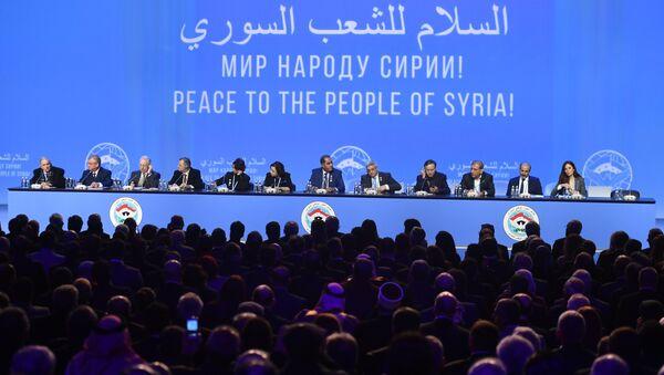 Hội nghị đối thoại quốc gia Syria đã chính thức khai mạc tại Sochi - Sputnik Việt Nam