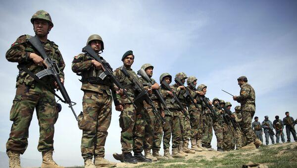 Quân nhân Afghanistan - Sputnik Việt Nam