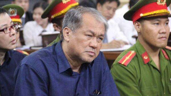 Ông Phạm Công Danh tại tòa - Sputnik Việt Nam