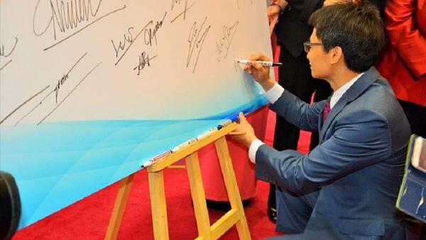 Phó Thủ tướng Vũ Đức Đam ký cam kết về tăng cường dinh dưỡng - Sputnik Việt Nam
