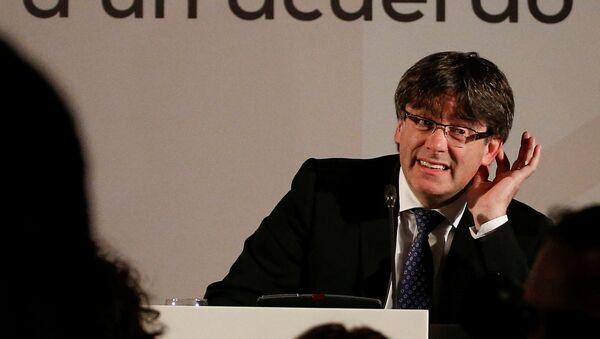 Cựu lãnh đạo chính phủ Catalan Carles Puigdemont - Sputnik Việt Nam