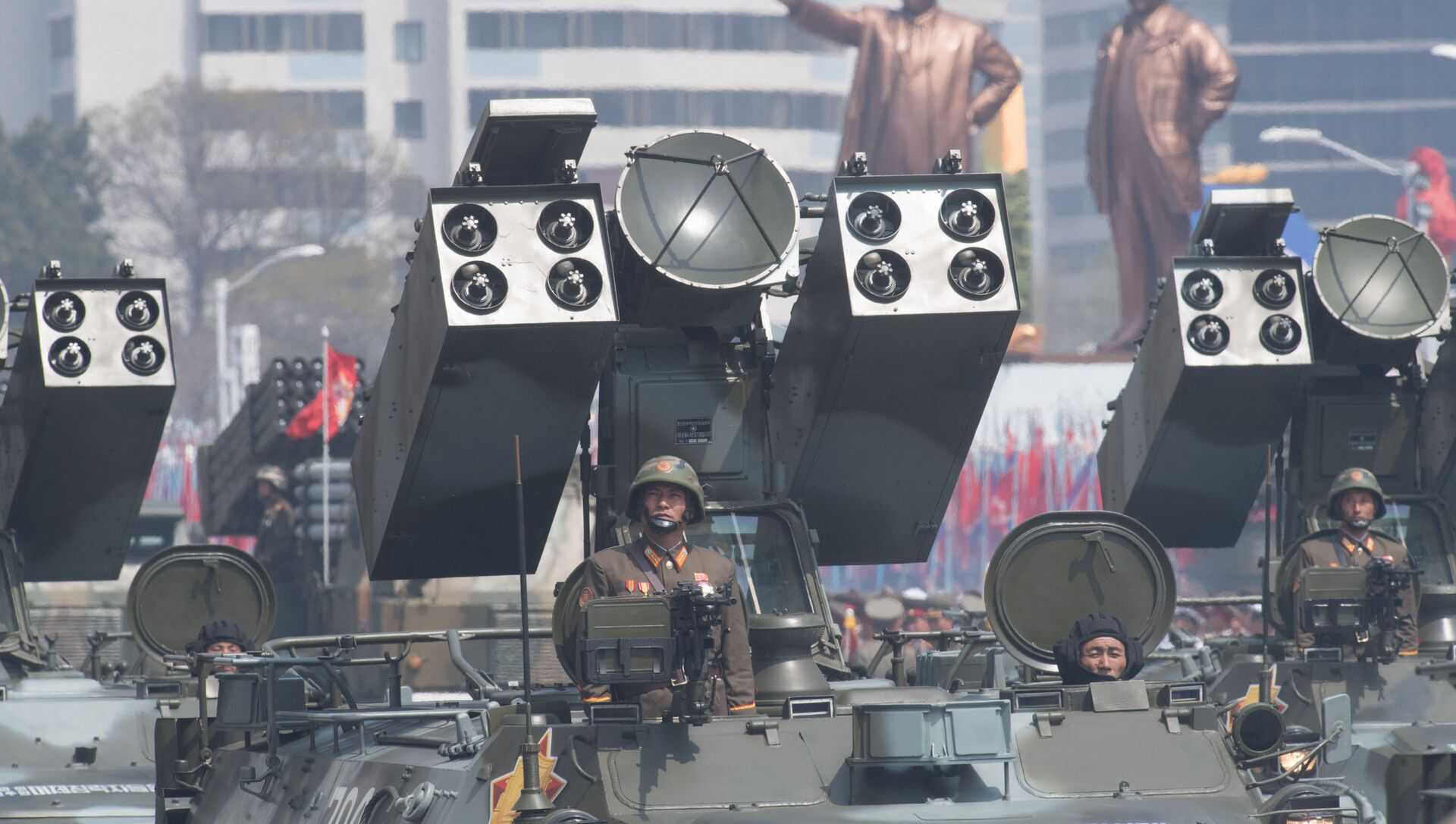 cuộc diễu hành quân sự ở Bình Nhưỡng - Sputnik Việt Nam, 1920, 28.09.2021