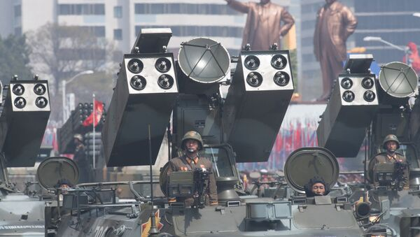 cuộc diễu hành quân sự ở Bình Nhưỡng - Sputnik Việt Nam