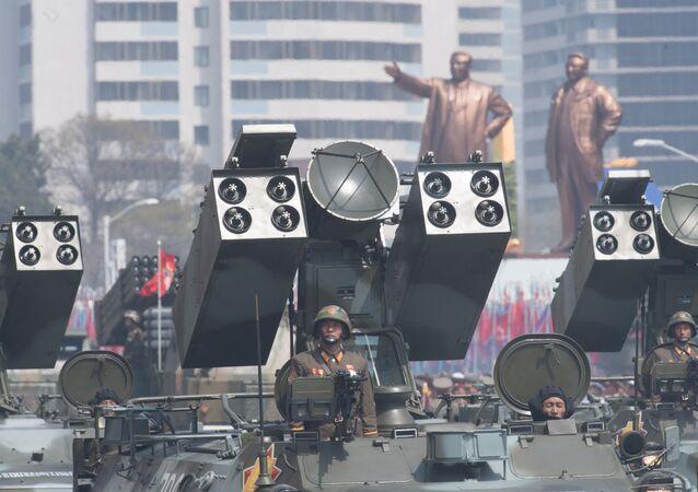 cuộc diễu hành quân sự ở Bình Nhưỡng