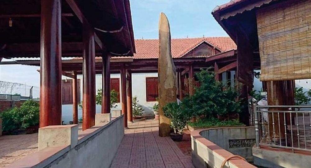 Bên trong biệt phủ nhà ông Trần Ngọc Quang