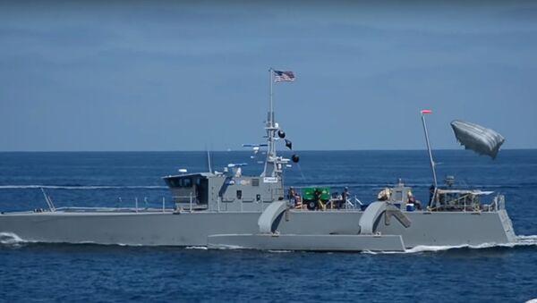 Tàu săn ngầm không người lái ACTUV - Sputnik Việt Nam