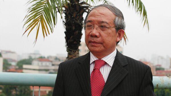 Giáo sư Trần Văn Nhung - Sputnik Việt Nam
