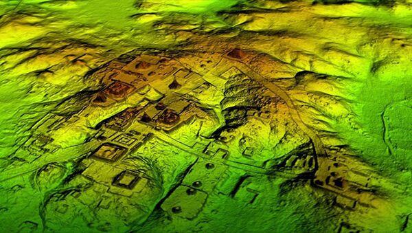 Các nhà khảo cổ học đã tìm thấy tàn tích hàng chục ngàn ngôi nhà của người Maya - Sputnik Việt Nam